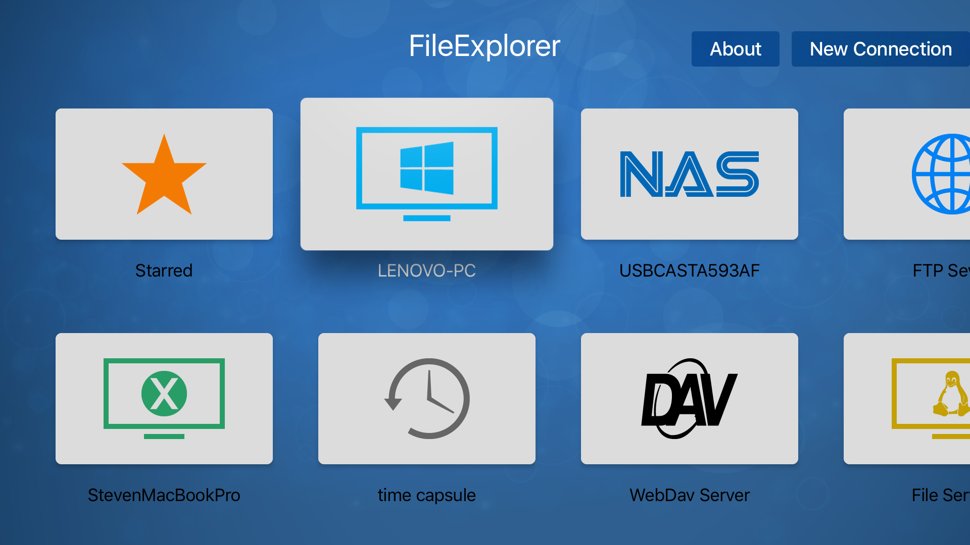 FileExplorer for TV is available on Apple TV!   MacRumors Forums