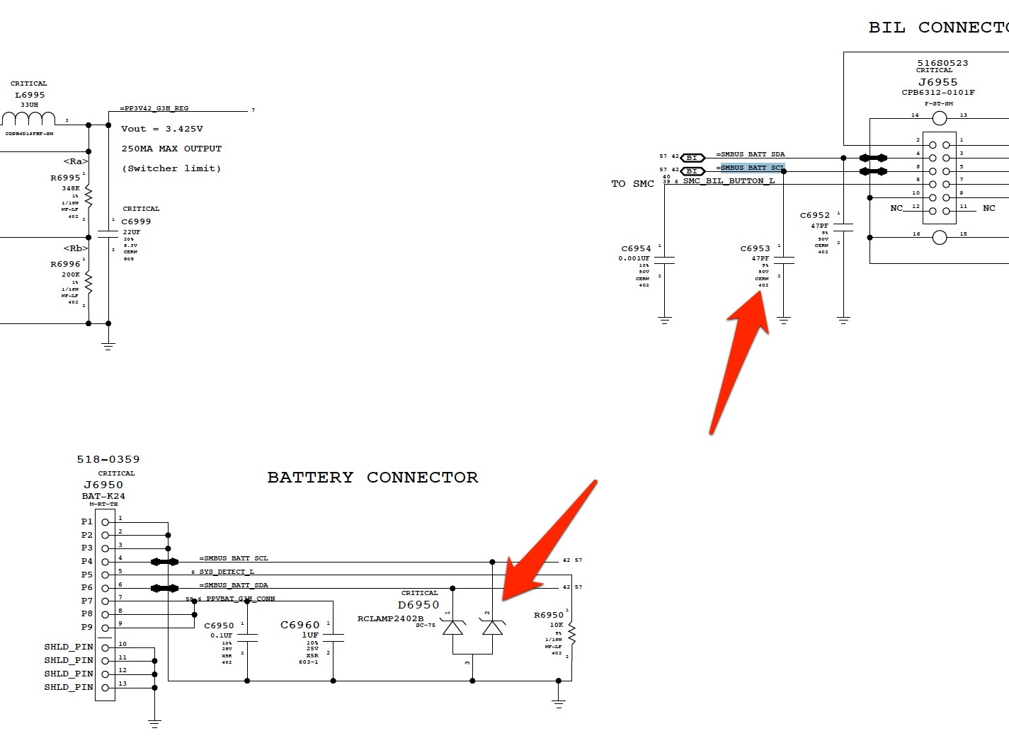 accidentally shorted battery connector now smc problems macrumors rh forums macrumors com Yamaha 48 Volt Battery Charger Wiring Diagram 2012 Dodge Charger Wiring Diagram