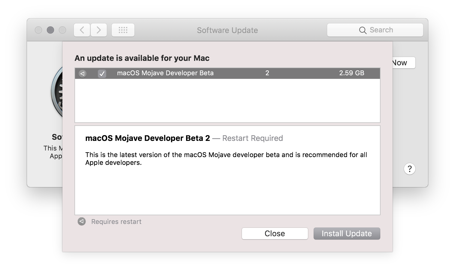 Apple Seeds Second Beta of macOS 10 14 Mojave to Developers