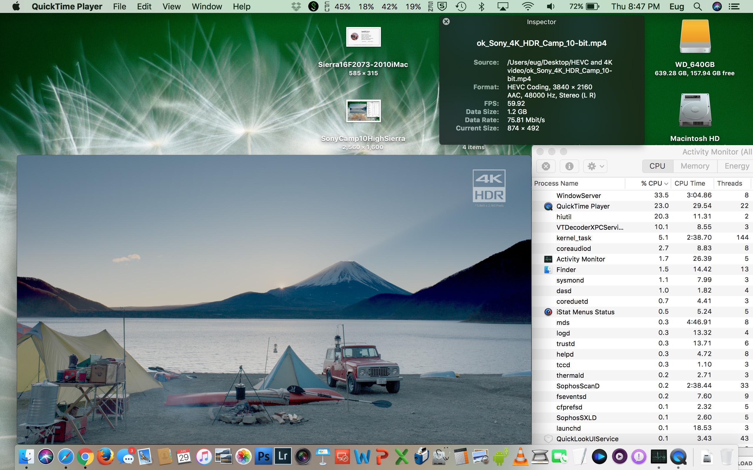 4K HEVC 10-bit on the 2017 Core m3 MacBook is gorgeous! | MacRumors