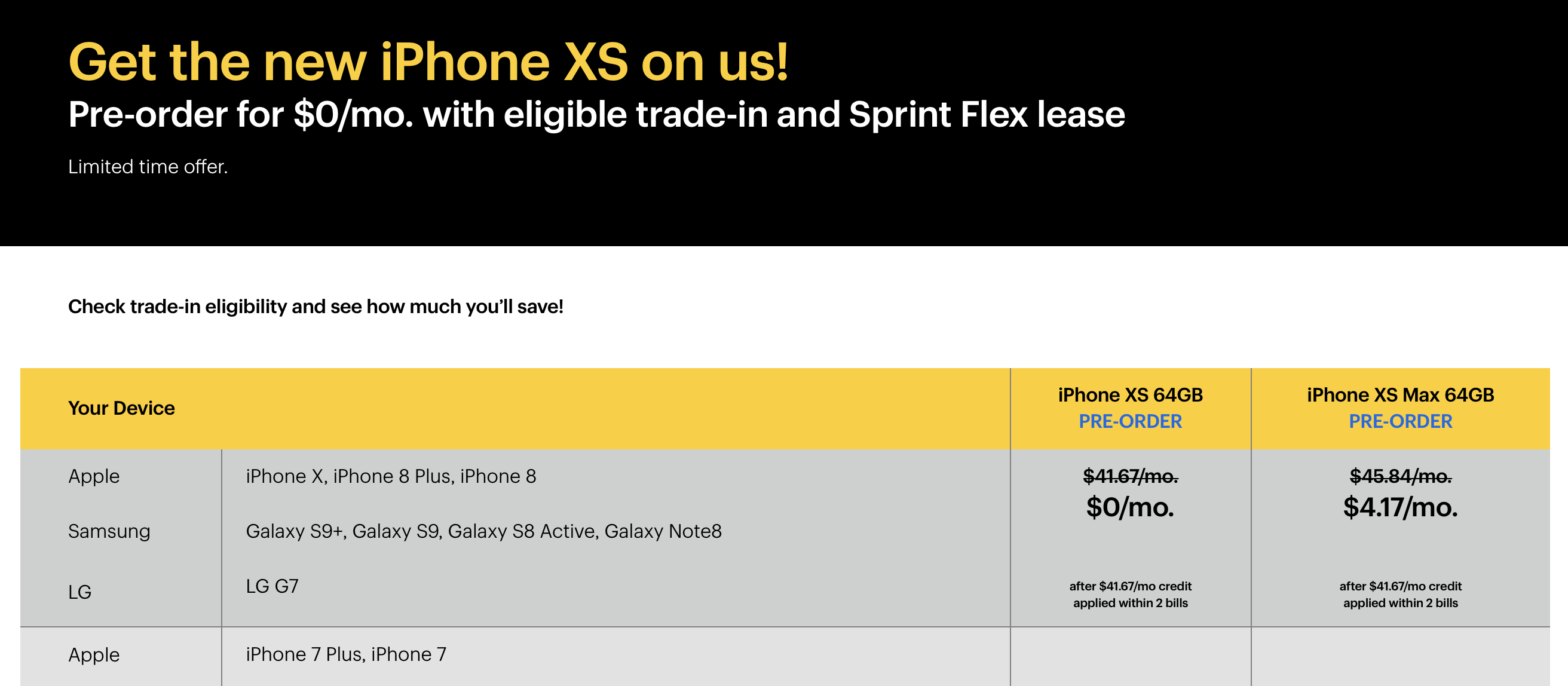 Carrier - Sprint 2018 New iPhone Pre-Order Thread | Page 2