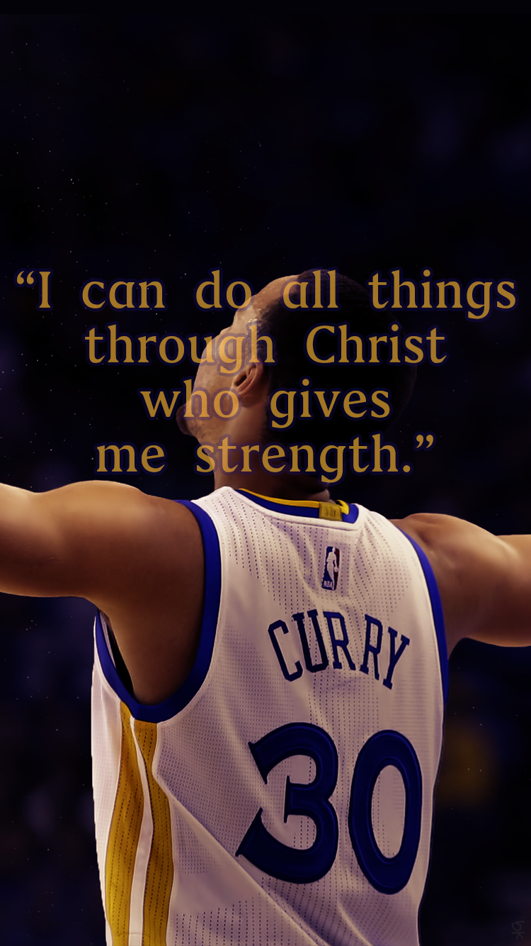 Stephen Curry Bible Verse