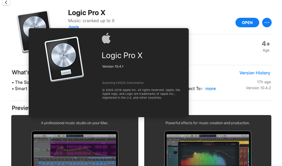 logic pro x download free 2018