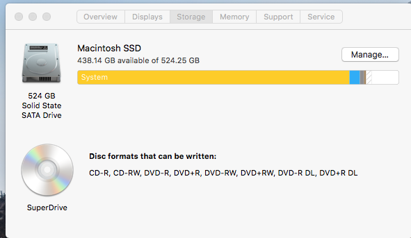 System Taking up 448GB after iCloud Transfer   MacRumors Forums