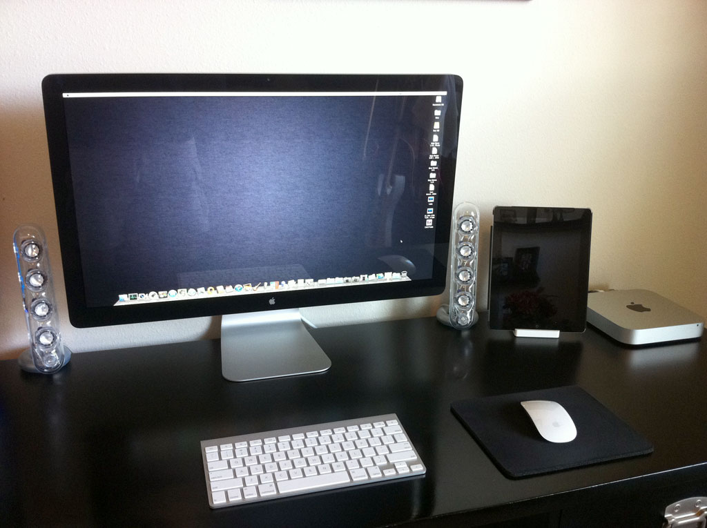 mac pro 2009 thunderbolt display