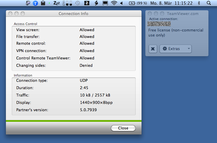 teamviewer for mac 10.4 11