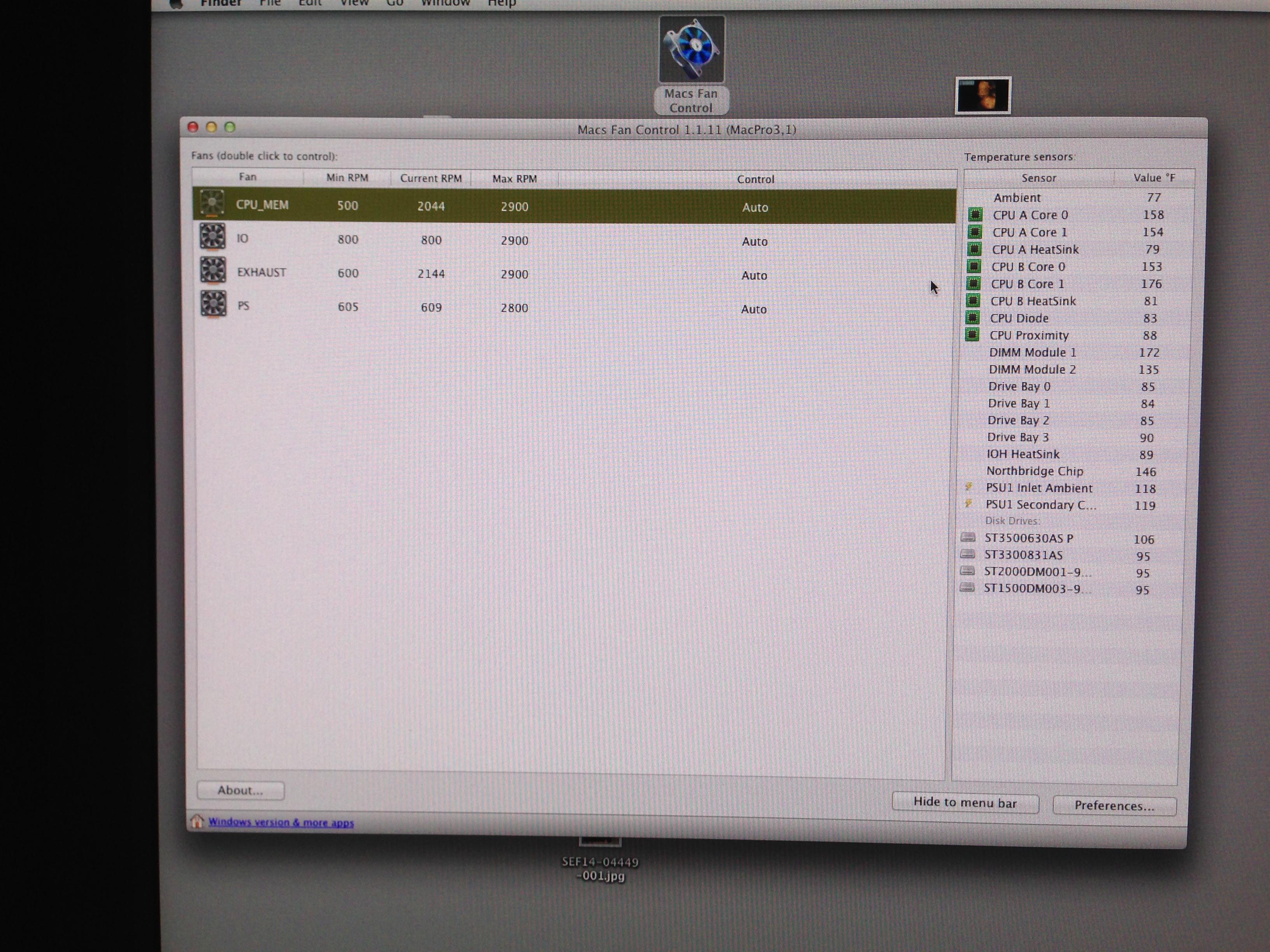 DDR2 800MHz PC2 6400 Memory for Apple Mac Pro GEN 3.1 MA970LL//A 8GB 2X4GB