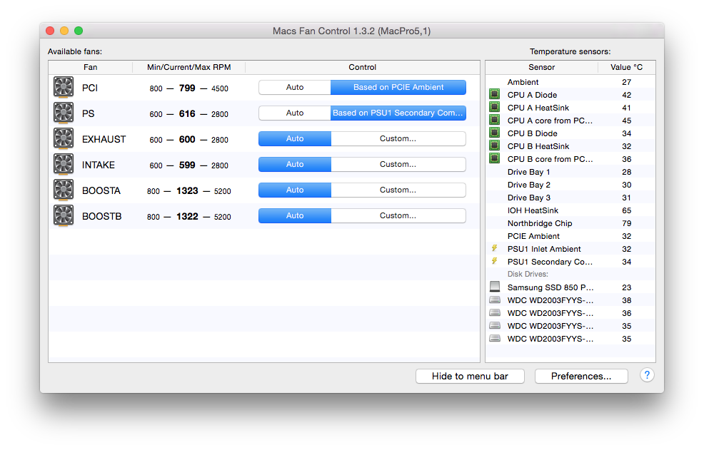 Resolved - How-To: FIX MAC PRO FAN SPEEDS when using PC (non-EFI