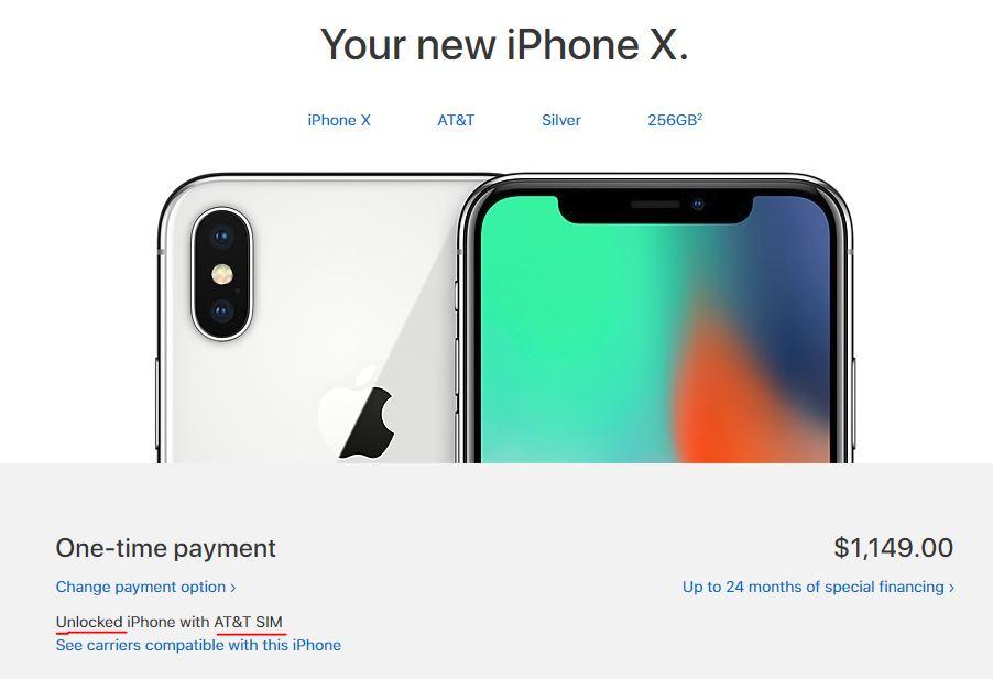 iPhone X unlocked on AT&T? | MacRumors Forums