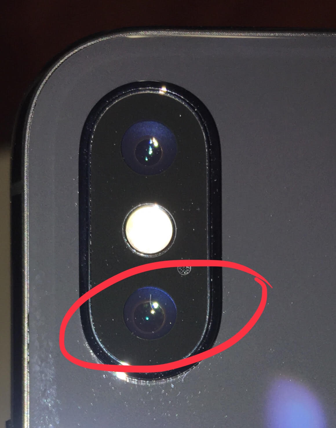 low priced c0f13 ae4f9 iPhone X - freakin' hair on camera lens - iPhone X | MacRumors Forums