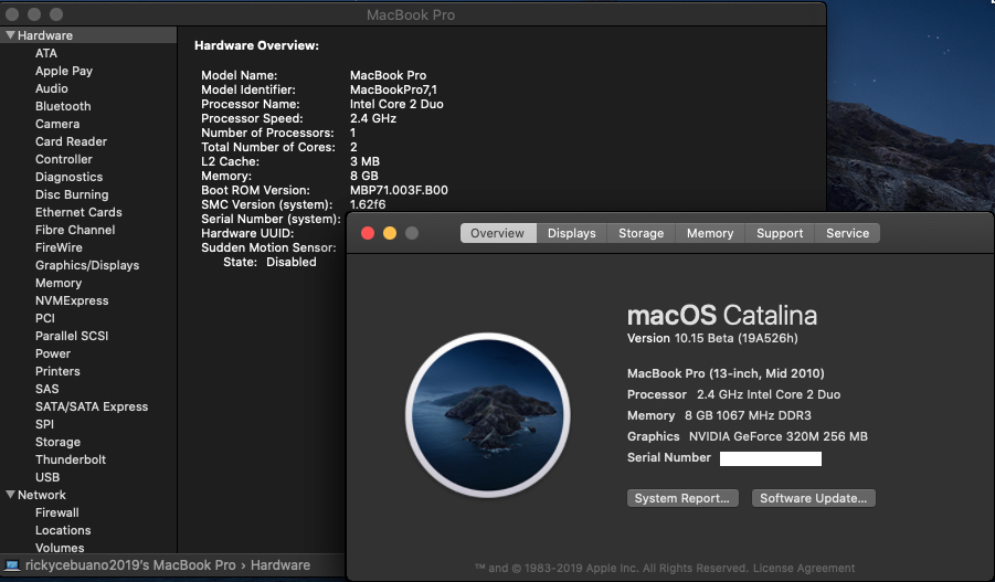 macOS 10 15 Catalina on Unsupported Macs | Page 144