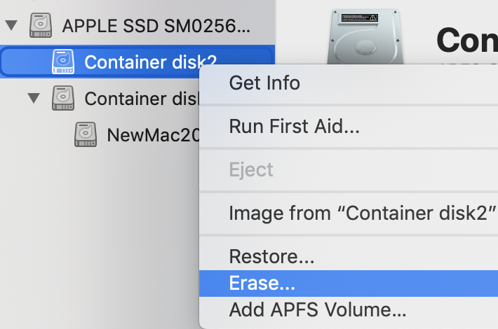 Need help reclaiming disk space in APFS Containers | MacRumors Forums