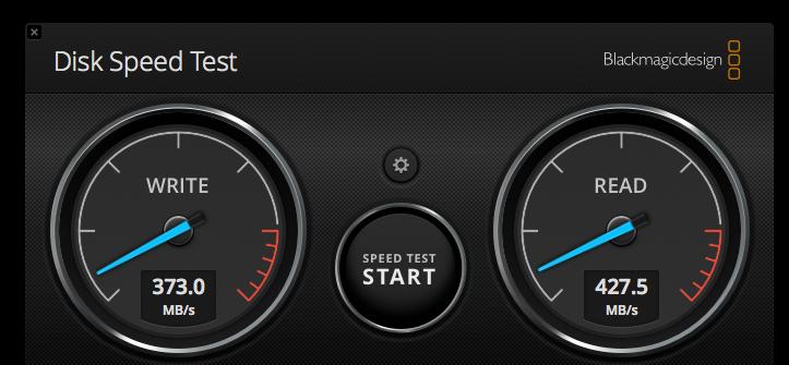Write Speed On External Usb C Ssd Is Slower Than Read Speed Macrumors Forums