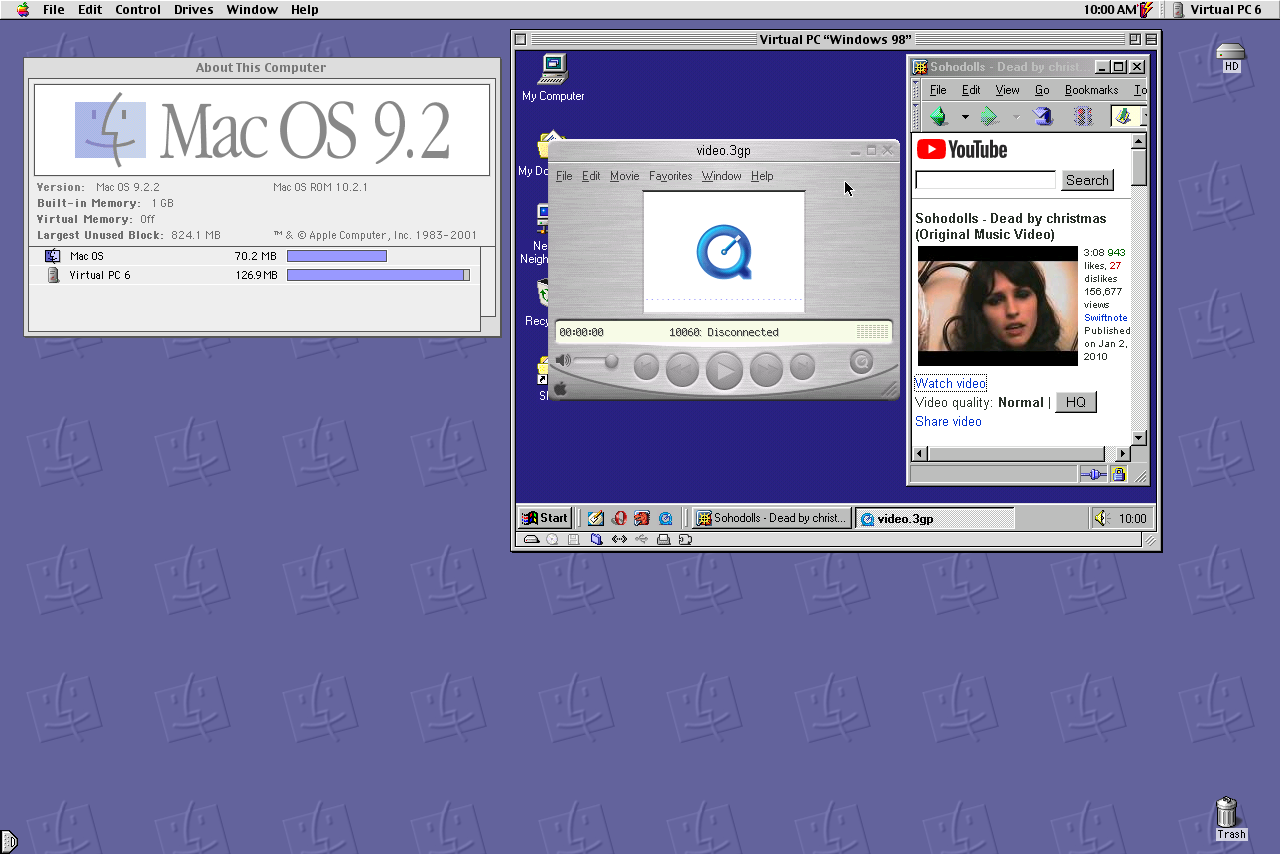 Virtual PC on OS9 | MacRumors Forums