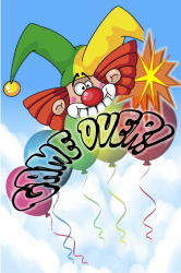 Game Over Screen no Adds Balloon Pop.png