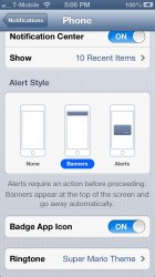 No voicemail or missed calls in notification center? | MacRumors Forums