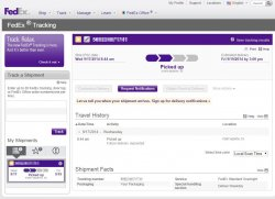 Fed Ex Does Not Require Signature Upon Delivery For My Ip6