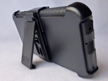 Tech21 Patriot for iPhone 6 Plus- Holster Kickstand View.jpg
