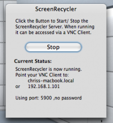 ScreenRecycler Started.png