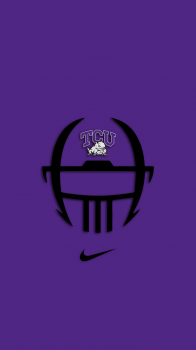 TCU Horned Frogs Nike Helmet