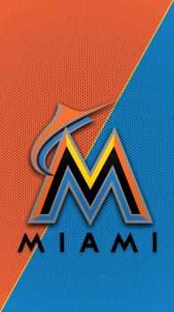 Group Of Miami Marlins Ipad Wallpaper