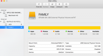 how to force delete a partition mac