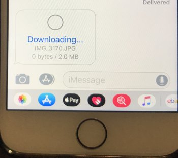 picture downloading imessage