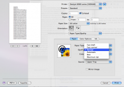 how do i print in fast draft? | MacRumors Forums